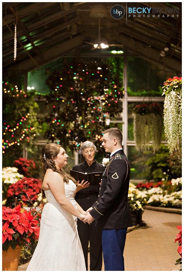 Lincoln Park Conservatory Winter Wedding Sarah Marcus
